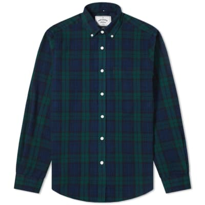 Portuguese Flannel Button Down Bonfim Check Shirt