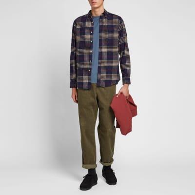 Portuguese Flannel Tomar Button Down Check Shirt