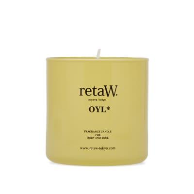 retaW Colour Series Fragrance Candle