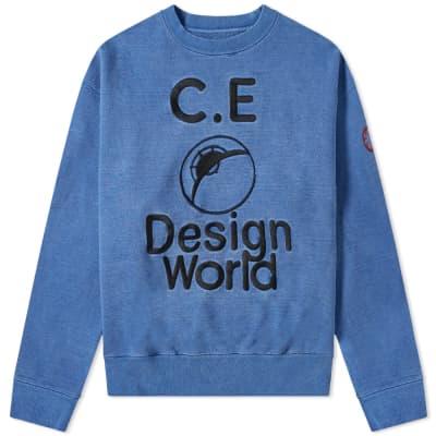 Cav Empt Design World Crew Sweat