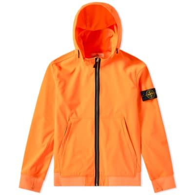Stone Island Soft Shell R Fixed Hood Jacket