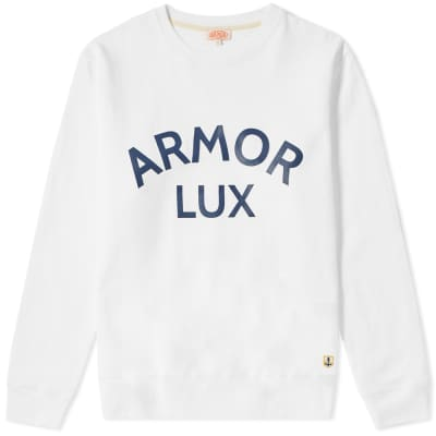 Armor-Lux 76661 Logo Crew Sweat