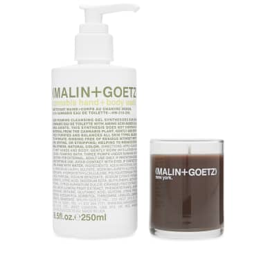 Malin + Goetz Cannabis Wash & Votive