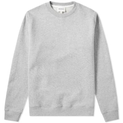 Norse Projects Vagn Classic Patch Logo Crew Sweat