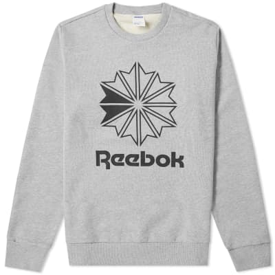 Reebok Big Starcrest Logo Sweat