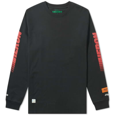 Heron Preston Long Sleeve Racing Tee