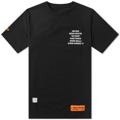 Heron Preston Metal Worker Tee