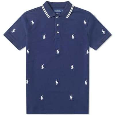 Polo Ralph Lauren All Over Embroidered Polo
