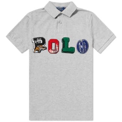 Polo Ralph Lauren Applique Logo Polo