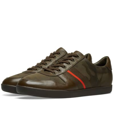 Polo Ralph Lauren Camo Grosgrain Stripe Sneaker