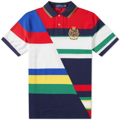 Polo Ralph Lauren Diagonal Sailing Crest Polo