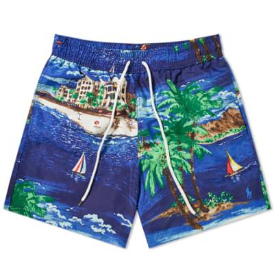 Polo Ralph Lauren Havana Print Traveller Swim Short