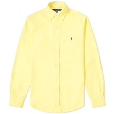 Polo Ralph Lauren Slim Fit Garment Dyed Button Down Oxford Shirt