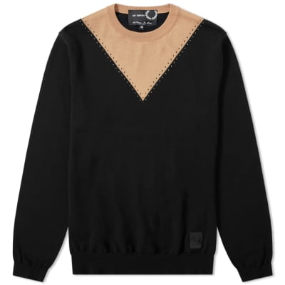 Raf Simons x Fred Perry Stitch Detail Crew Knit