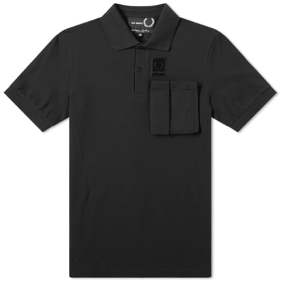 Raf Simons x Fred Perry Space Pocket Pique Polo