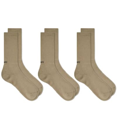 WTAPS Skivvies Sock - 3 Pack