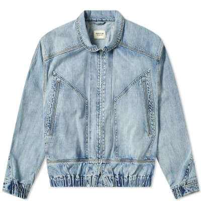Fear Of God Denim Track Jacket