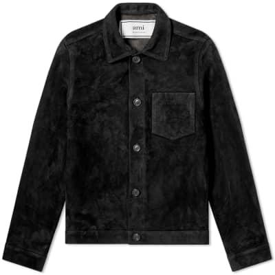 AMI Suede Western Jacket