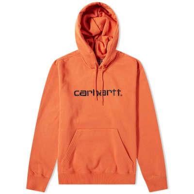 Carhartt Hooded Logo Sweat