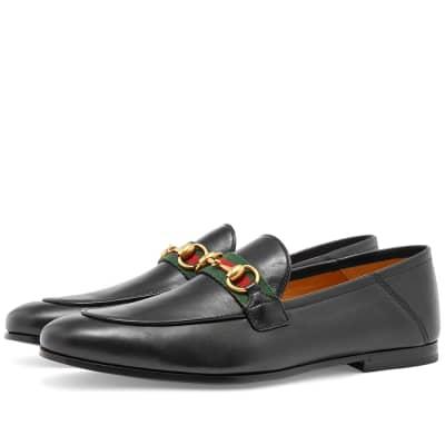 Gucci Brixton Bit Web Loafer