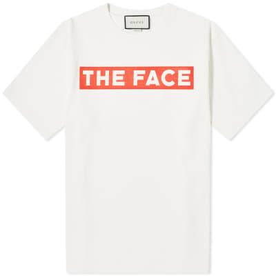 e13e0ab7 Gucci The Face Crew Tee