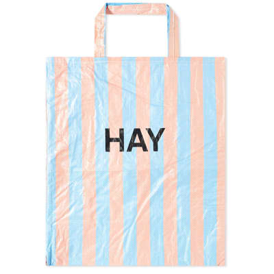 HAY Candy Stripe XL Shopper