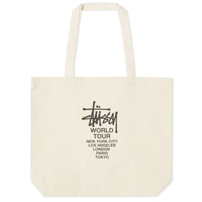 Stussy Canvas Tour Tote Bag
