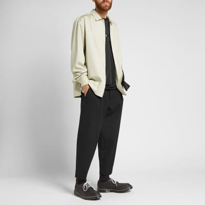 Comme des Garcons Homme Plus Wool Cropped Trouser