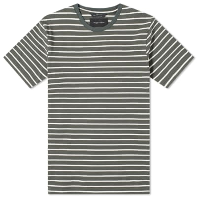 Wings + Horns Heavyweight Striped Tee