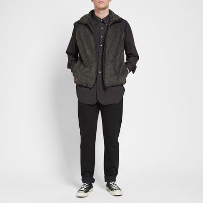 orSlow Fleece Vest