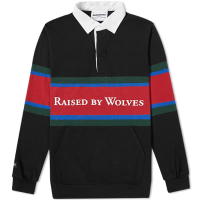 Raised by Wolves x Barbarian Rugby Top
