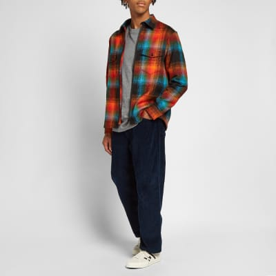 Raised by Wolves Double Plaid Shirt Jacket