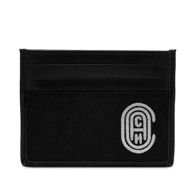 Coach Canvas Signature Card Holder