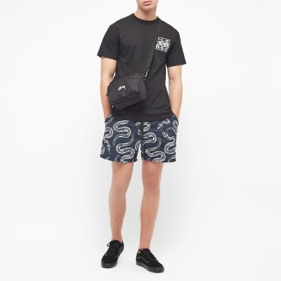 Life's a Beach Snake Swimshorts