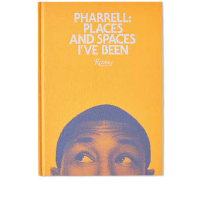 Pharrell: Places & Spaces I've Been - Orange Cover