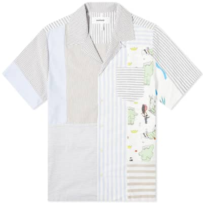 Soulland Jaco Patchwork Vacation Shirt