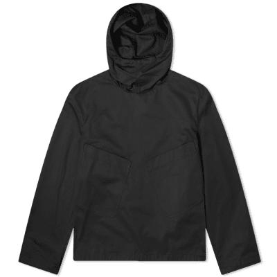 Valentino Large Pocket Popover Hooded Smock