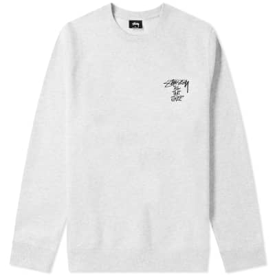 Stussy All That Jazz Crew Sweat