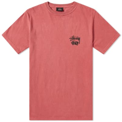 Stussy Dice Pigment Dyed Tee