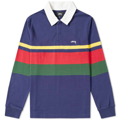 Stussy Lucas Stripe Rugby Shirt