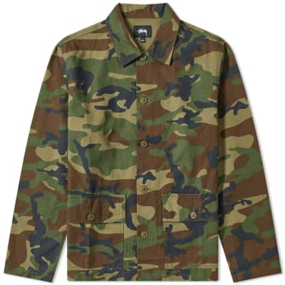 Stussy Military Shirt
