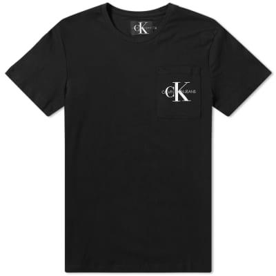 Calvin Klein Monogram Pocket Logo Tee