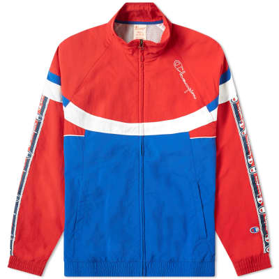 Champion Reverse Weave Taped Colour Block Track Top