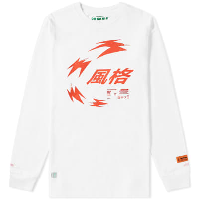 Heron Preston Long Sleeve Chinese Heron Tee