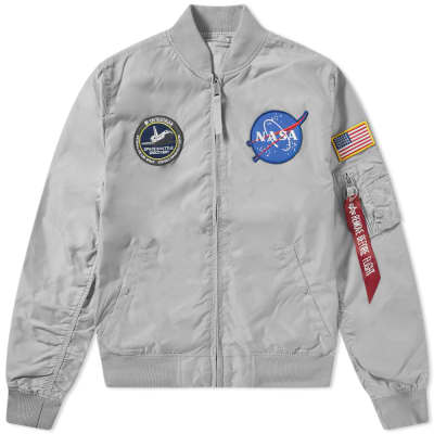 Alpha Industries MA-1 TT NASA Reversible II Jacket