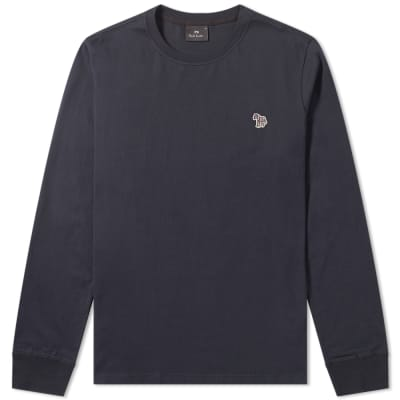 Paul Smith Long Sleeve Zebra Logo Tee