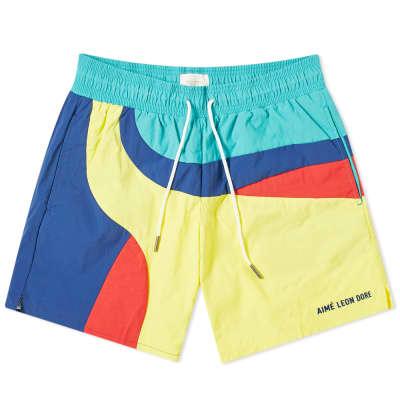 Aimé Leon Dore Colour Block Swim Short