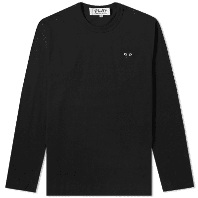 Comme des Garcons Play Long Sleeve Tee