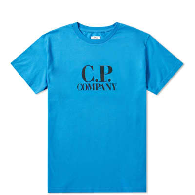 C.P. Company Undersixteen Logo Goggle Back Tee