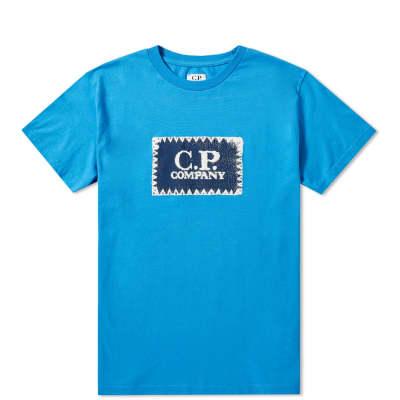 C.P. Company Undersixteen Stamp Logo Tee